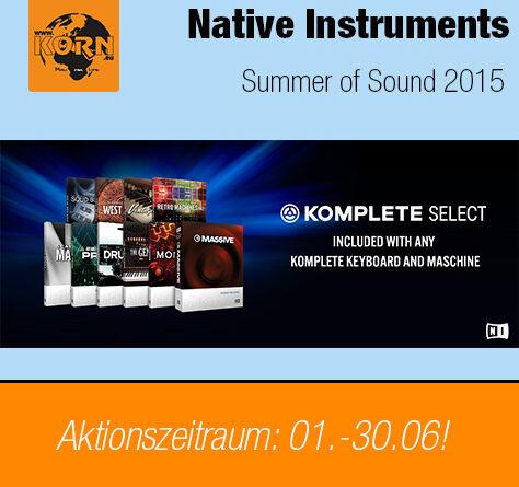 Native Instruments KOMPLETE Sonderaktion