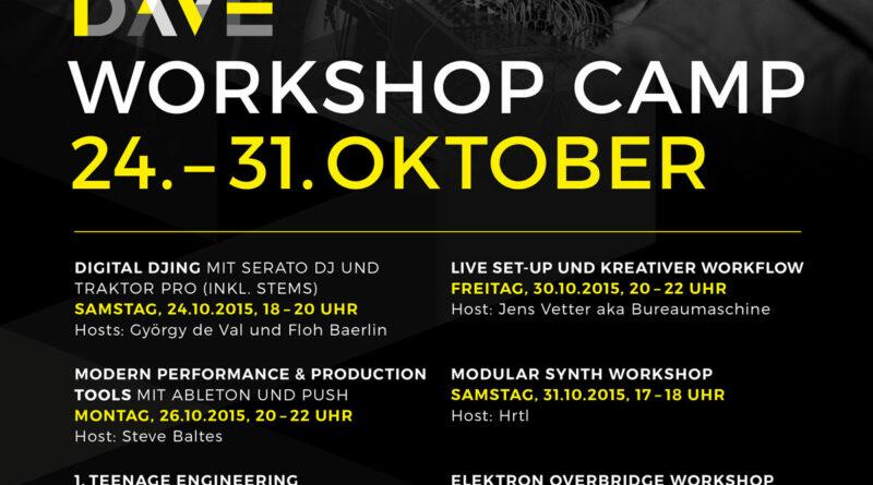DAVE Workshop Camp 2015