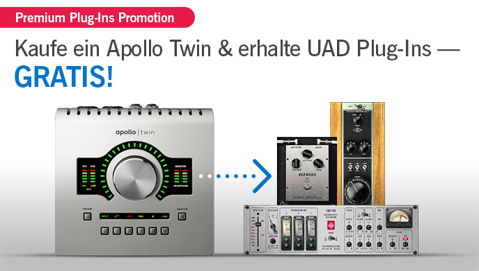 Universal Audio Apollo Twin Plug-In Promo
