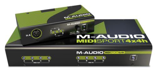 M-audio MIDISport Hub 2x2 | 4x4