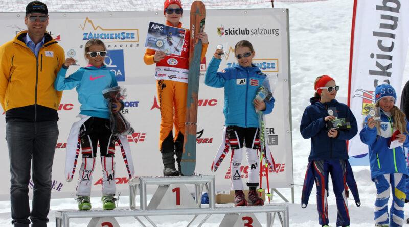 Mia Savannah Korn gewinnt 12. Internationale Kidstrophy in Zauchensee/Österreich