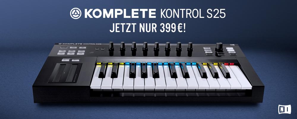 Native Instruments Komplete Kontrol S25 neuer Preis