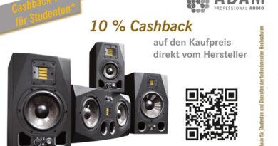 ADAM Audio 10% EDU Cashback