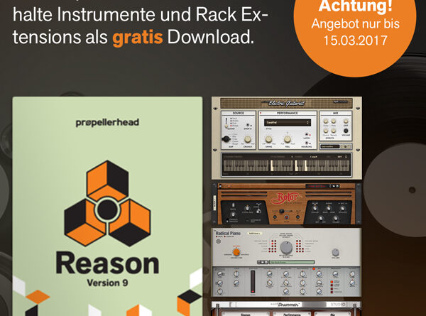 Propellerhead Reason 9 Aktion
