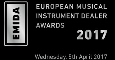 European Music Instruments Dealer Awards 2017