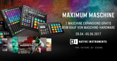 7 Expansions gratis bei Kauf von Native Instruments Maschine