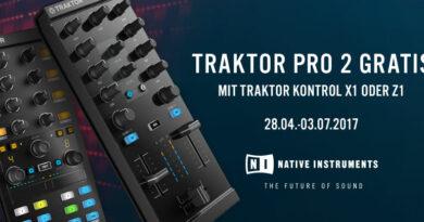 Native Instruments Traktor Pro 2 gratis bei Kauf von X1 und Z1