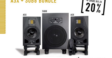 ADAM Audio A5X Paar + Sub8 2.1 Bundle