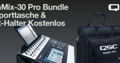QSC TouchMix-30 Pro Bundle