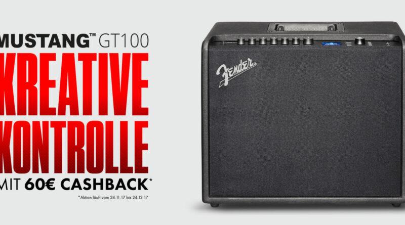 Fender Mustang GT 100 - 60 Euro Cashback