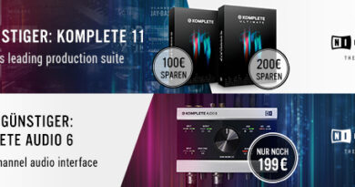 Native Instruments KOMPLETE 11 + KOMPLETE Audio 6
