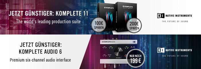 Native Instruments KOMPLETE 11 + KOMPLETE Audio 6