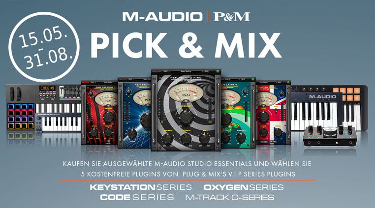 M-Audio | Plug & Mix