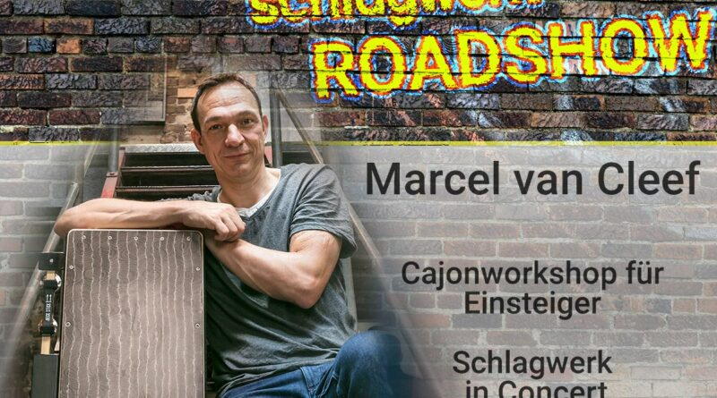 Schlagwerk Workshop mit Marcel van Cleef