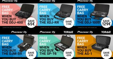 Pioneer DJ - Gratis Bags - Bis zu 129 Euro sparen