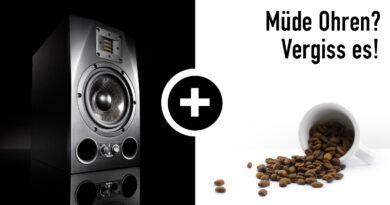ADAM Audio A7X + Black Insomnia Kaffee Aktion