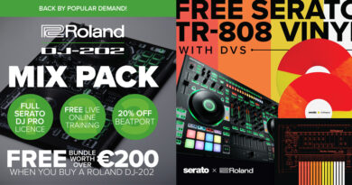Roland DJ News DJ-202, DJ-505, DJ-808, TR-8S Specials + Awards