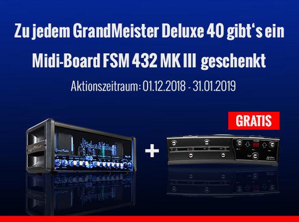 Hughes & Kettner GrandMeister Deluxe 40 Head