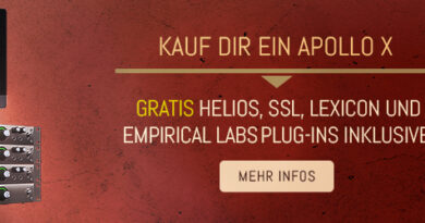 Universal Audio Apollo X - Spare bis zu 1246,00 € für UAD Plug-Ins