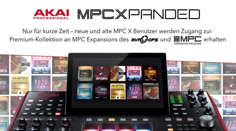 Akai MPC X Promo