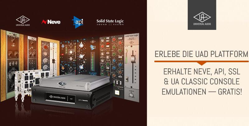 Universal Audio UAD Accelerator Promo