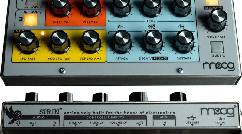 Moog Sirin Synthesizer vorgestellt