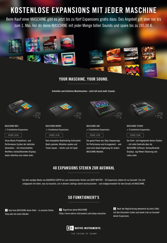 Native Instruments - MASCHINE EXPANSIONS Special