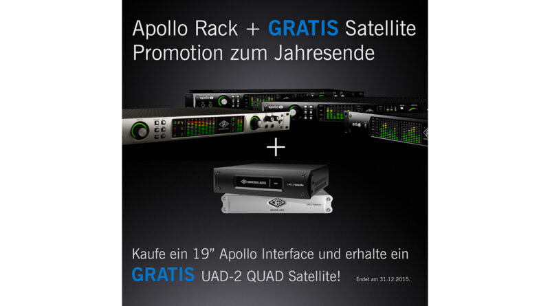 Universal Audio Apollo Rack