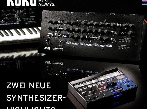 Korg Volca NuBass | Korg minilogue XD Module