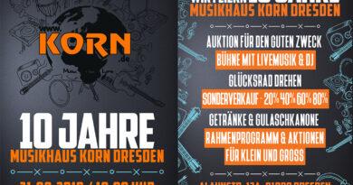 10 Jahre Musikhaus Korn Dresden