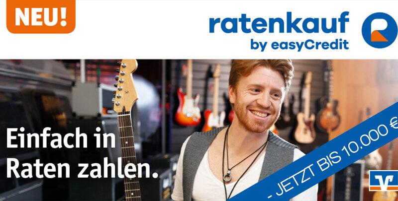 Ratenkauf by easyCredit jetzt bis 10.000 EUR