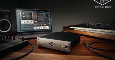 Universal Audio UAD-2 Satellite Thunderbolt 3 DSP-System veröffentlicht