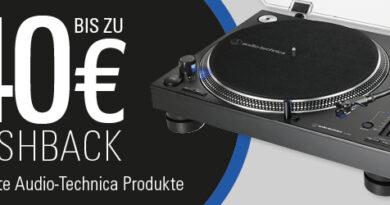 Audio Technica Cashback Aktion - 01.10.-31.12.2019