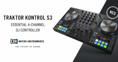 Native Instruments TRAKTOR KONTROL S3 DJ Controller vorgestellt