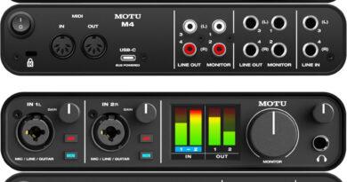 MOTU M2 + M4 USB-C Audio Interfaces vorgestellt