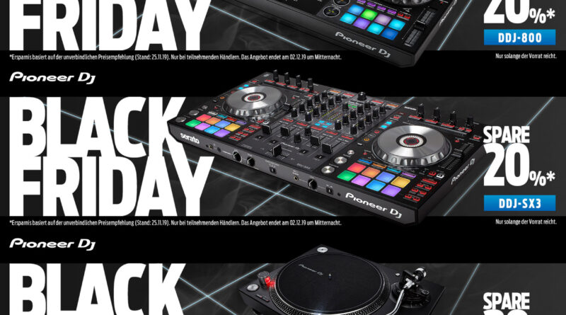 Pioneer DJ - Black Friday Deals - 20% off