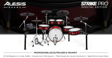 Alesis Strike Pro Special Edition E-Drum Kit vorgestellt