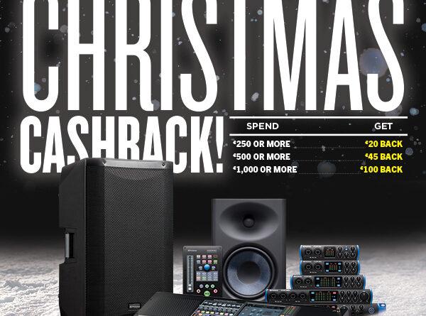 PreSonus - Bis 100 Euro Cashback - Weihnachtsaktion 2019