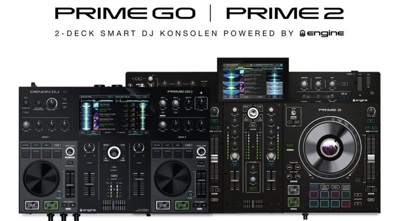 Denon PRIME 2 und Denon PRIME GO angekündigt