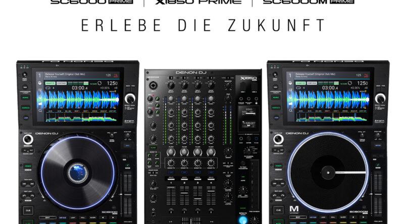 Denon SC6000/M PRIME DJ Mediaplayer + X1850 PRIME DJ Club Mixer angekündigt