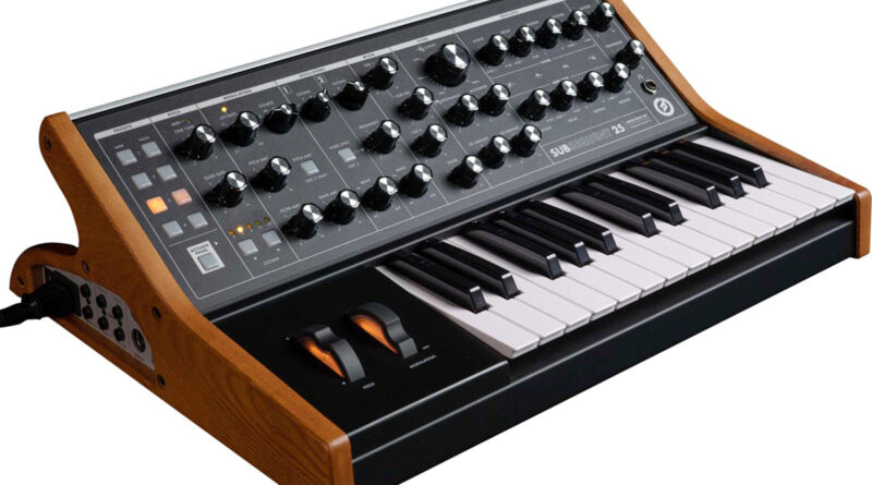 Moog Subsequent 25 Synthesizer vorgestellt