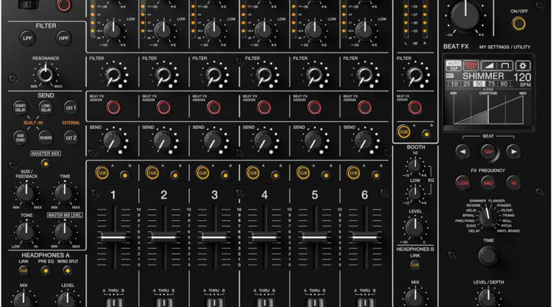 Pioneer DJM-V10 6-Kanal Club DJ Mixer vorgestellt