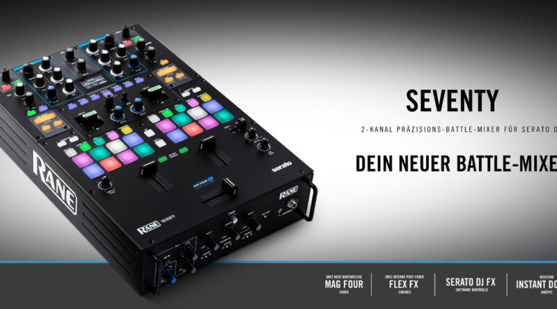 Rane Seventy Battle Mixer angekündigt