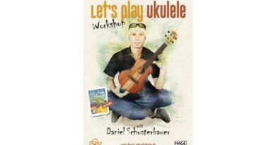 Ukulelen Workshop mit Daniel Schusterbauer - Halle (Saale), Leipzig, Dresden