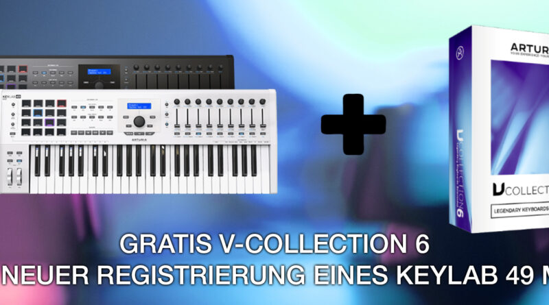 Arturia KeyLab 49 MKII + gratis V-Collection 6