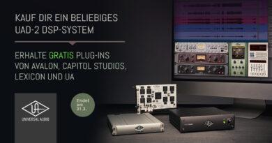 Universal Audio - Gratis Avalon - Capitol Studios - Lexicon + UA Plug-Ins