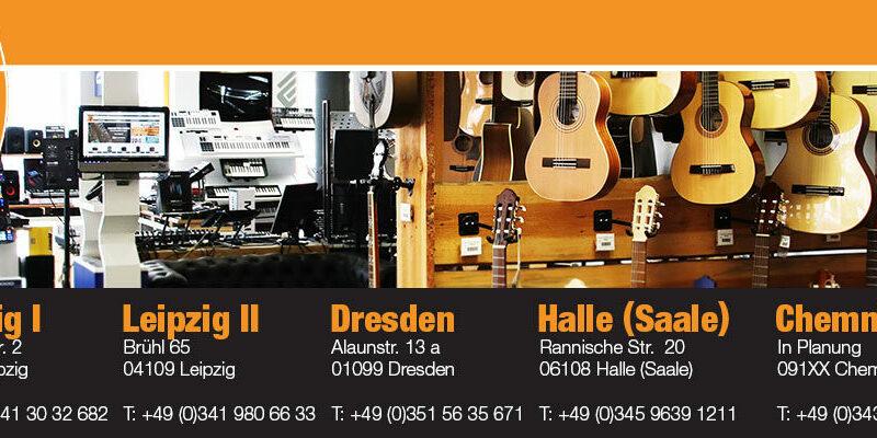 Musikhaus Korn Filialen