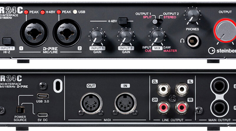 Steinberg UR24C USB Audio Interface vorgestellt