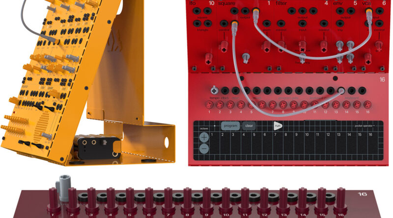 Teenage Engineering PO Modular Serie vorgestellt
