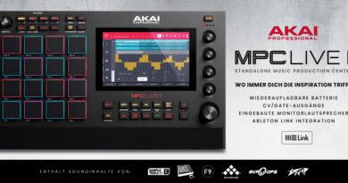 Akai Professional MPC Live II angekündigt